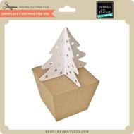 Snowflake Christmas Tree Box