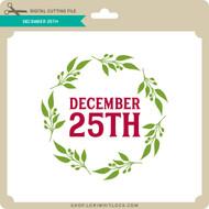 December 25th
