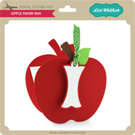 Apple Favor Box
