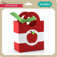 Apple Favor Bag