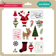 Christmas Stickers 3