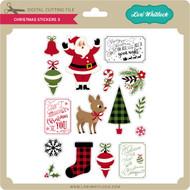 Christmas Stickers 3