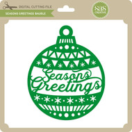 Seasons Greetings Bauble 2