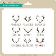 Reindeer Names Antlers