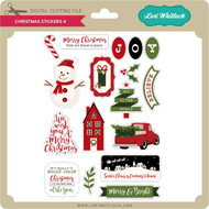Christmas Stickers 4