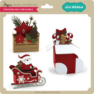 Christmas Box Card Bundle
