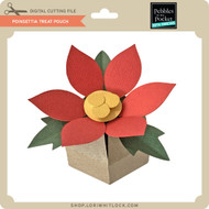 Poinsettia Treat Pouch