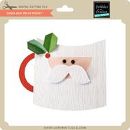 Santa Mug Treat Pocket
