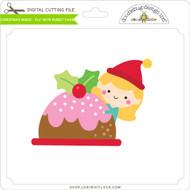 Christmas Magic - Elf with Bundt Cake