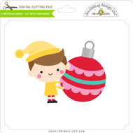 Christmas Magic - Elf with Ornament