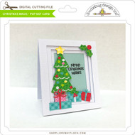 Christmas Magic - Pop Dot Card