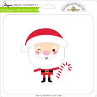 Christmas Magic - Santa Wink Candy Cane
