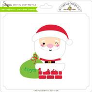 Christmas Magic - Santa Wink Chimney