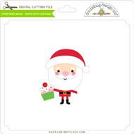 Christmas Magic - Santa with Cupcake