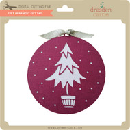 Tree Ornament Gift Tag