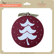 Tree Ornament Gift Tag 2