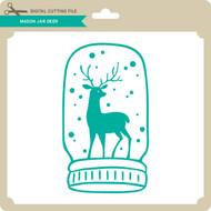 Mason Jar Deer