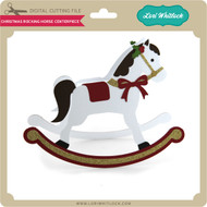 Christmas Rocking Horse Centerpiece