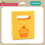 Birthday Cupcake Treat Bag