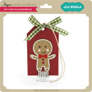 Gift Card Tag Gingerbread