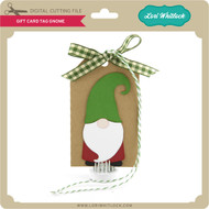 Gift Card Tag Gnome