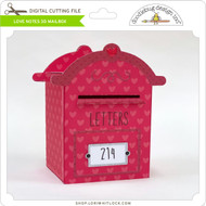 Love Notes 3D Mailbox