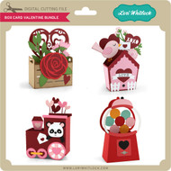 Box Card Valentine Bundle
