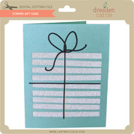 Striped Gift Card