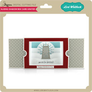 Sliding Shadow Box Card Grater