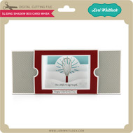 Sliding Shadow Box Card Whisk