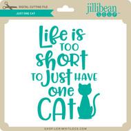 Just One Cat