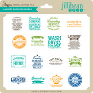 Laundry Room Sign Bundle