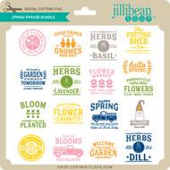 Spring Phrase Bundle