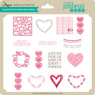 Valentine Background Bundle