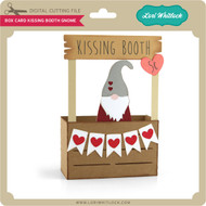 Box Card Kissing Booth Gnome