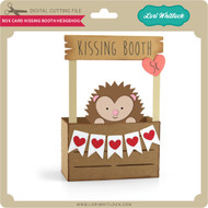 Box Card Kissing Booth Hedgehog