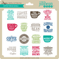 Coffee Phrase Bundle 4