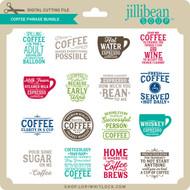 Coffee Phrase Bundle 4