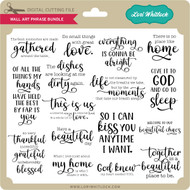 Wall Art Phrase Bundle