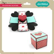 Explosion Box Valentines
