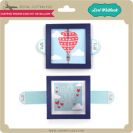 Surprise Window Card Hot Air Balloon