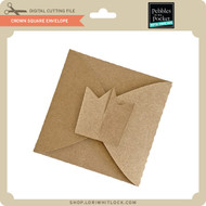 Crown Square Envelope