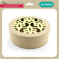 Circle Box Decorative