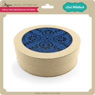 Circle Box Decorative Pattern