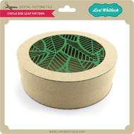 Circle Box Leaf Pattern