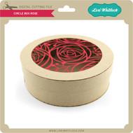 Circle Box Rose