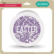 Circle Card Easter