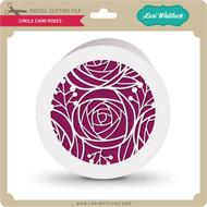 Circle Card Roses