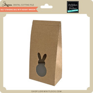 Self Standing Bag with Bunny Window