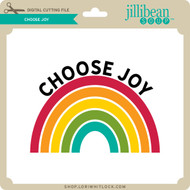Choose Joy Rainbow